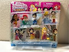 "NEW!!! Disney Princess Comics Glitter Pack Including 5 Glittery 2"" Figures RARE"