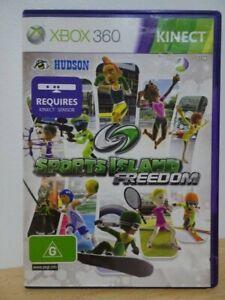 Sports Island Freedom...XBOX 360 Kinect Game...   FREE POST AU