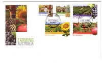 "2012 FDC Australia. Farming Australia. High values. Pict.FDI  ""NEWMARKET"""