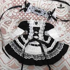 1/6 BJD Dress YOSD Maid Dress set Dollfie AOD Pullip Clothing dress Lolita skirt