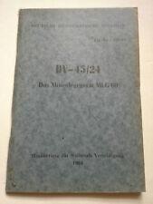 NVA ORIGINALE DV  MIENENLEGEGERÄT MLG 60
