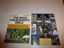 2 Lot Fishing Books,FISHING TIPS & TRICKS The Freshwater Angler,Fishermans Bible