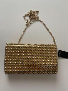Armani Foreignexchange evening gold bag- women's