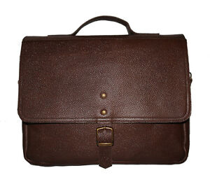 New Best Buy Men's Handmade Genuine Leather Messenger Laptop Bag Best Briefcase