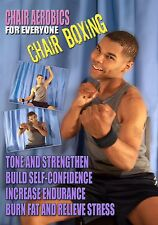 Chair Aerobics for Everyone: Chair Boxing DVD *New Unopened* Seated Workout