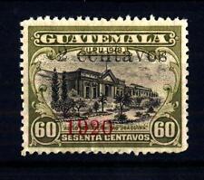 GUATEMALA - 1920 - Francobolli del 1918-1919 soprastampati: 2 centavos - 1920
