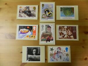 1985 YEAR OF 8 SETS - 36 PHQ CARDS - IN VERY GOOD CONDITION - PLEASE SEE PHOTOS