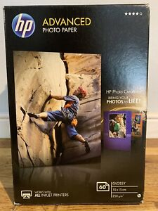 HP Advanced Photo Paper -  Glossy - (10x15) 60 Sheets - Q8008A - BNIB