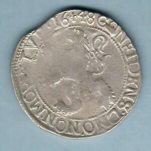 Netherlands - Kampen. 1648 Lion Daalder.. Fine