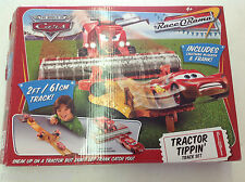 Mattel Disney Cars RaceORama Tractor Tippin Track Set RARE! CIB! See Pics!