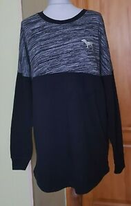 Women's Victoria's Secret PINK Oversize Long Sleeve Top/Jumper, Size M