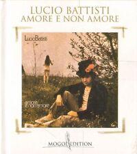 Lucio Battisti Amore e non amore CD edicola nuovo celofanato