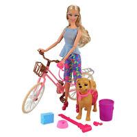 Villavivi 2 Accessori Di Bambola Barbie Dolls: Bicicletta + Accessori Beniamino