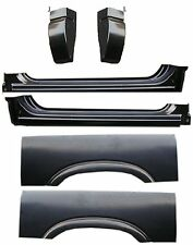 94 04 Chevy GMC 6Pc Extended Rockers, Regular Cab Corners & Upper Wheel Arch Set