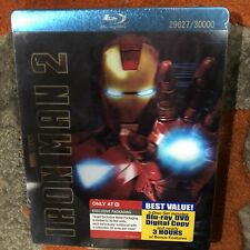 Ironman 2 Blu ray Steelbook Target Exclusive *BRAND NEW SEALED*
