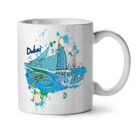 Dubai NEW White Tea Coffee Mug 11 oz | Wellcoda