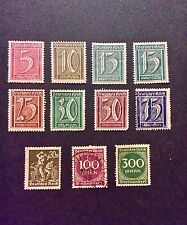 German empire stamps 1920's stamps from Germany