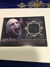 Harry Potter And The Goblet Of Fire Artbox Card Material Worn By Lord Voldemort