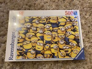 Ravensburger Despicable Me Minions Jigsaw, 500 Pieces *NEW & FACTORY SEALED*