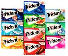 Trident Sugar Free Gum Variety Assortment 10 Pack (10 Flavors)