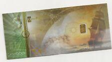 ONENADIR KARATBARS 1/10 GRAM .9999 GOLD KARAT PAY CASHGOLD BILLS BAR