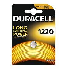 Pilas litio Duracell Cr1220 3V CR 1220 Dl1220 X1