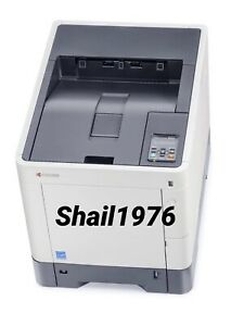 Kyocera ECOSYS P6130cdn Color, Network Printer with Low P/Count 8200.