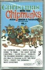 Christmas with the Chipmunks Vol 1 by simon & Theodore Alvin Cassette new