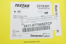 Front Disc Brake Pad Set - Textar Ceramic 34 11 6 779 652