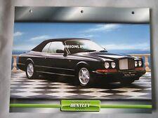 Bentley Azure Dream Cars Card