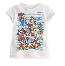 Disney Mickey and Minnie Mouse Tee for Girls - Size XS 4