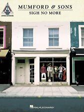 Mumford & Sons Sigh No More Sheet Music Guitar Recorded Version Book N 000691070
