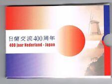 400 JAAR NEDERLAND - JAPAN UITGAVE 2000 BU SET BLISTER