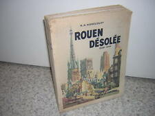 1949.Rouen désolé / Nobécourt.N° sur vélin.guerre 39-45