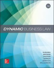 Dynamic Business Law by Nancy K. Kubasek and Daniel J. Herron (2014, Hardcover)