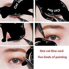 Black Quick Eyeliner Stickies Stencils Cat Eye Line Makeup Tool 6N
