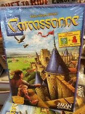Carcassonne Game Klaus-Jurgen Wrede + Expansion The River & The Abbot Z-Man Game