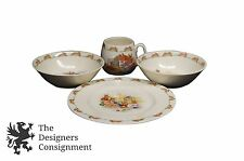 4 Piece Vintage Royal Doulton Fine Bone China Bunnykins Dining Place Setting