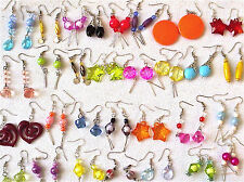 WHOLESALE LOT 50 PAIRS OF ASSORTED HAND MADE FASHION EARRINGS