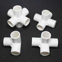 3/4/5/6 Ways PVC Water Pipe Tube Connectors Adapter 20m/25mm/32mm Inner Diameter