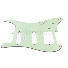 1 HSS 3 Ply Electric Guitar Pickguard Scratch Plate Mint Green for Fender Strat