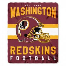"Washington Redskins NFL Northwest 50""x60"" Singular Soft Fleece Throw Blanket"