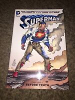Superman Volume 1 Before Truth HC Hardcover Gene Luen Yang DC Comics Vol. 1 book