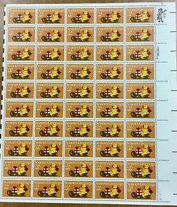 Scott #1940 20c Christmas Season's Greetings Stamp Sheet of 50 *see shipping inf