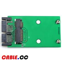 "Cablecc Mini PCI-E mSATA SSD to 1.8"" Micro SATA 7+9 16pin Adapter PCBA for SSD"