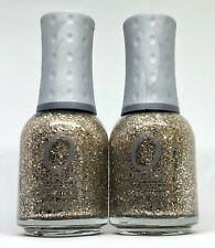 Orly Nail Polish HALO 40773 Mixes Gold Silver Sparkle Glitter Lacquer