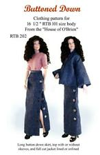 Rtb202 Buttoned Down pattern to fit Grace and other Rtb101 bodies