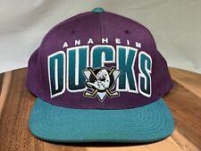 Anaheim Mighty Ducks Mitchell & Ness Vintage Hockey Snapback Hat Cap