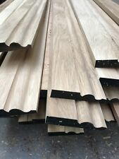 Solid Oak Ogee Skirting Board 95mm - Ogee - Long Lengths A grade Oak *****