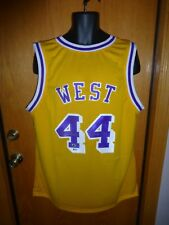 25306a5c8b4 JERRY WEST Autograph   Signed Lakers Jersey With Beckett Authentication BAS